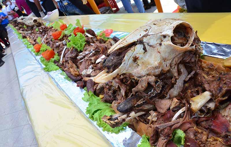 Plato tradicional peruano de carne