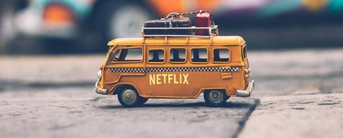 Bus viajero con series de netflix
