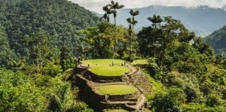 Ciudad perdida en medio de la selva