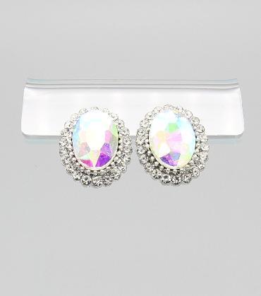 AB Stud Earrings image 1