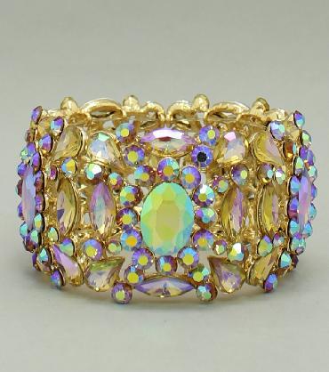 Gold Topaz/AB Bracelet image 1