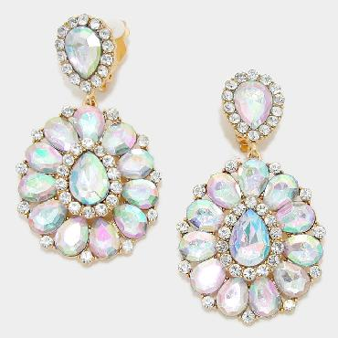 Image of Large Chunky Clip Earrings - A/B