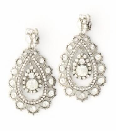 Image of Long and Chunky Clip on Earrings