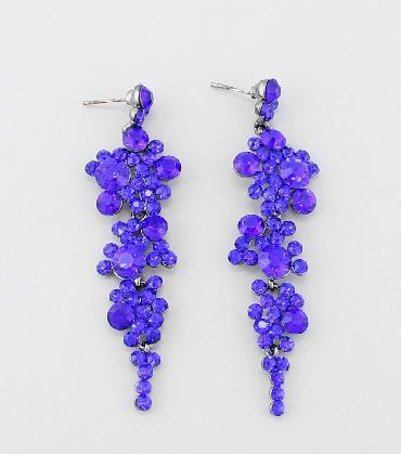 Blue Dangle Earrings image 1