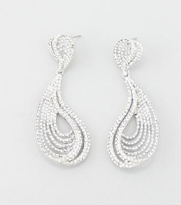 Clear Earrings image 1