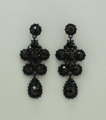 Black Earrings image 1