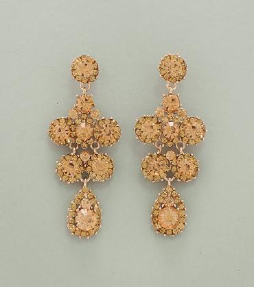 Peach Earrings image 1