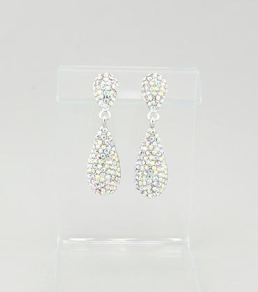 AB Drop Dangle Earrings image 1