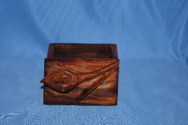 Image of Ironwood box - orchid - small