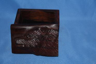 Image of Ironwood box - bear - small
