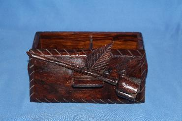 Image of ironwood jewelry box - rose