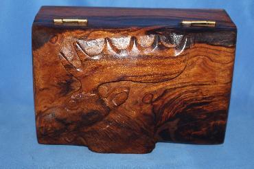 Image of Ironwood box - moose - medium
