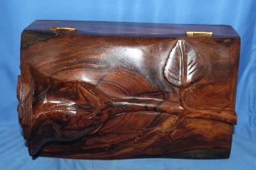 Image of Ironwood box - rose - medium