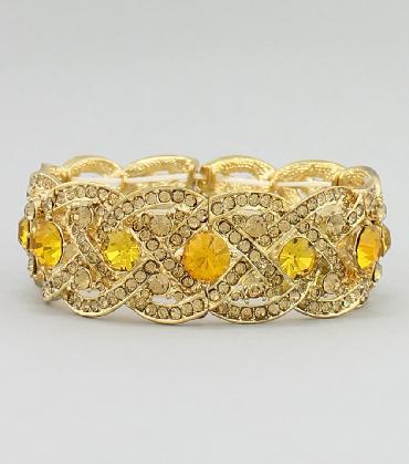 Yellow / Topaz Bracelet image 1
