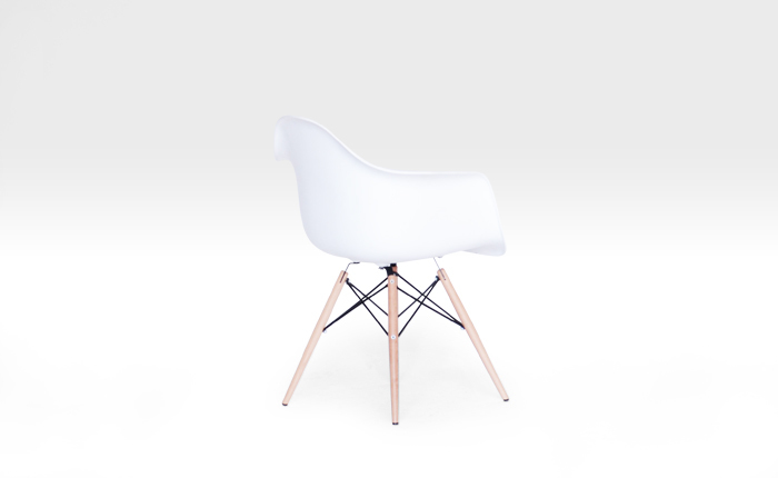 Super Designprops Charles Eames White Bucket Chair Onthecornerstone Fun Painted Chair Ideas Images Onthecornerstoneorg