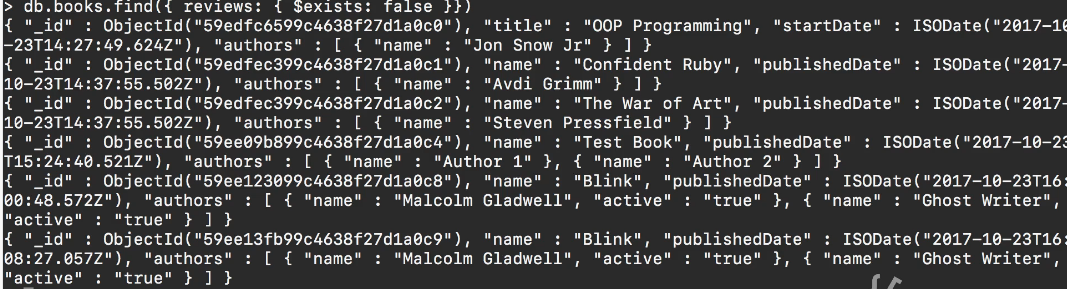 How to Check if a Field Exists in a MongoDB Document