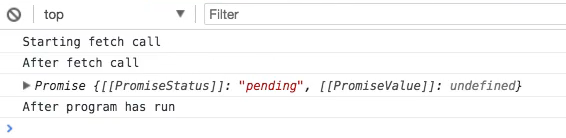 Using a fetch Promise to Communicate with APIs in JavaScript