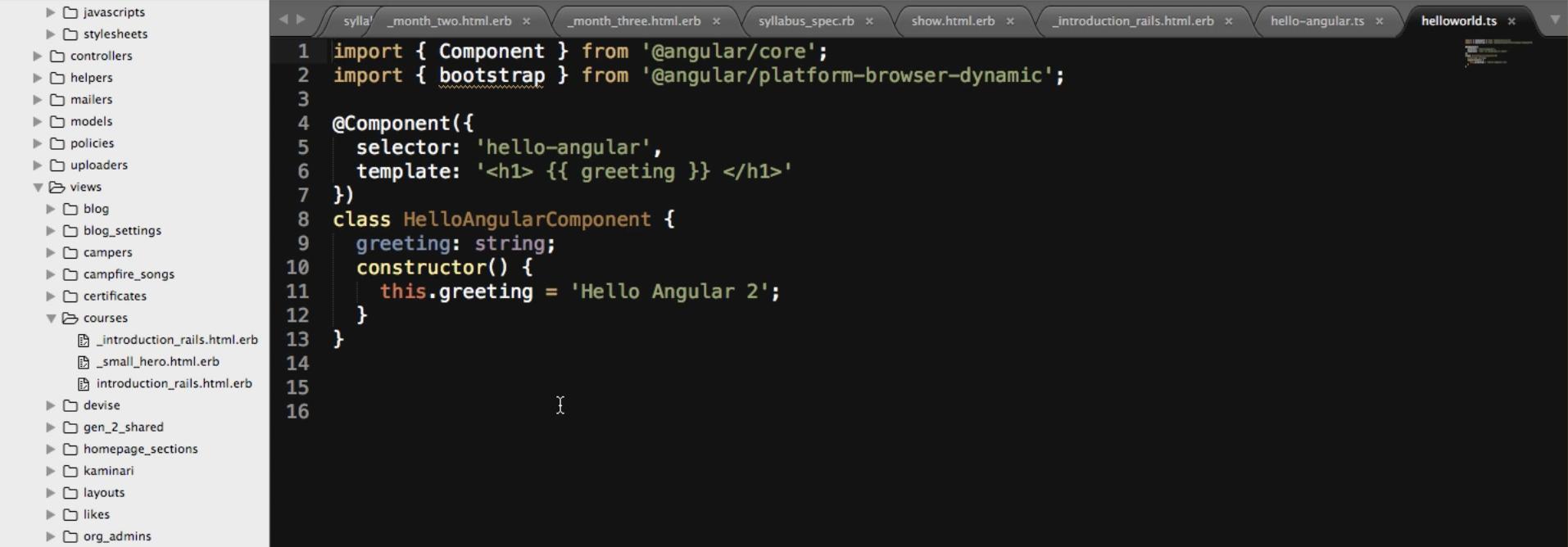 Installing TypeScript on a Mac