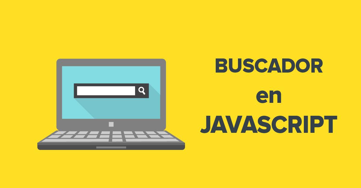Búsqueda con JavaScript