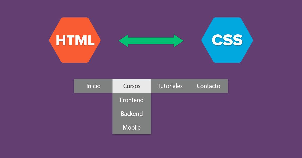 Cómo crear un menú desplegable con HTML y CSS sin JavaScript