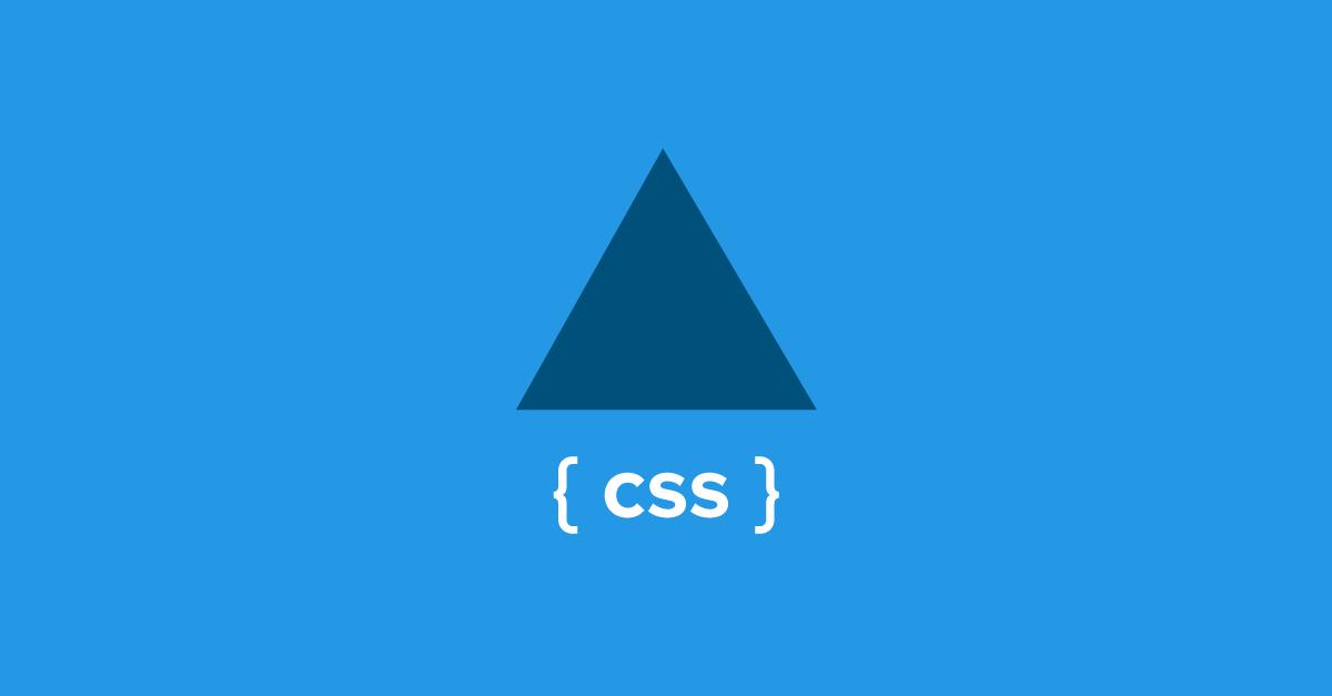 Crear triángulo con CSS