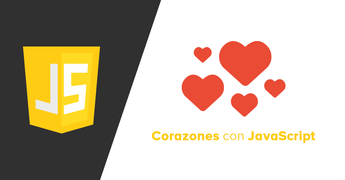 Corazones animados con Javascript