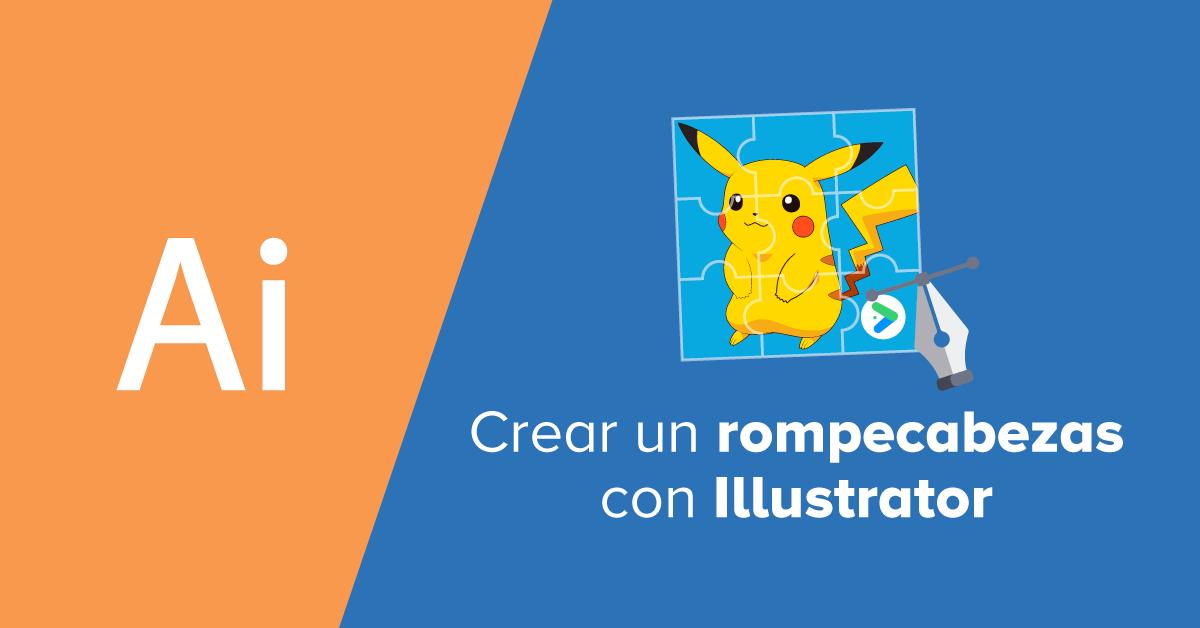 Crear Un Rompecabezas Con Illustrator