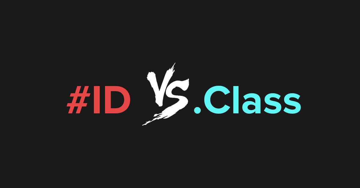 Diferencias entre el selector Class y el selector Id