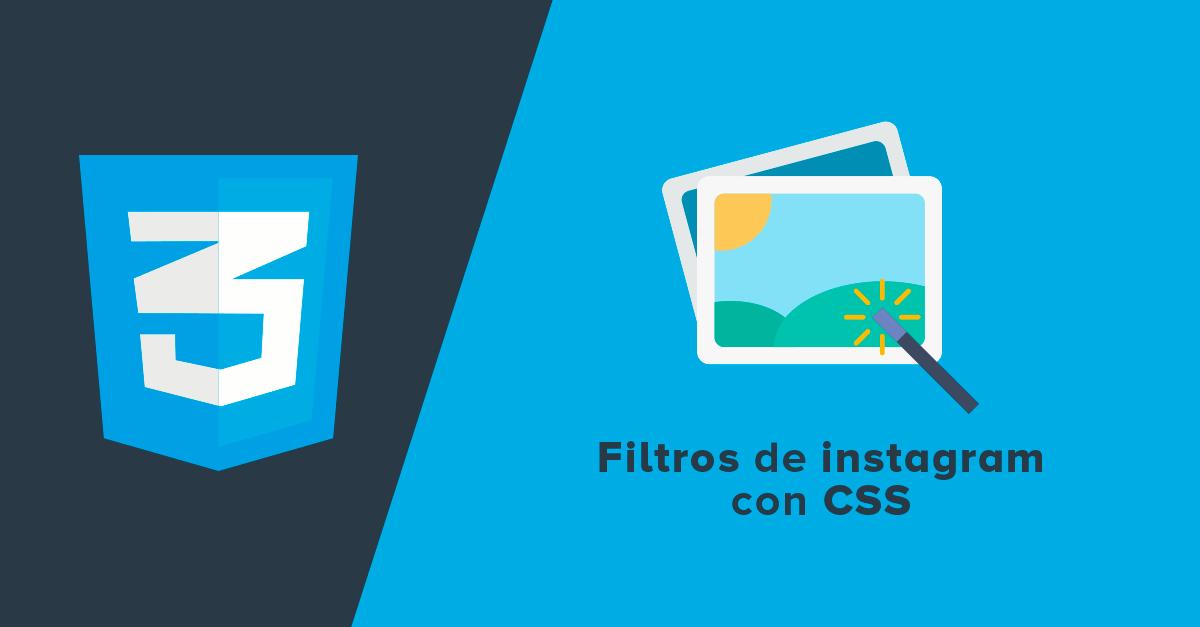 Filtros de Instagram con CSS