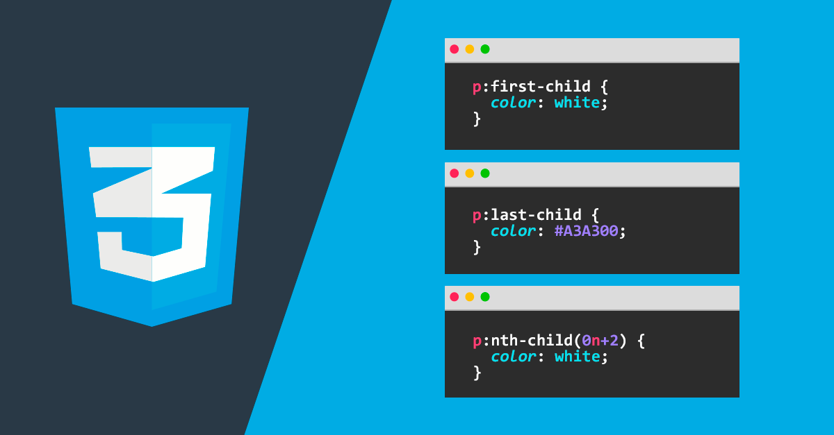 Pseudoclases CSS: first-child, last-child y nth-child