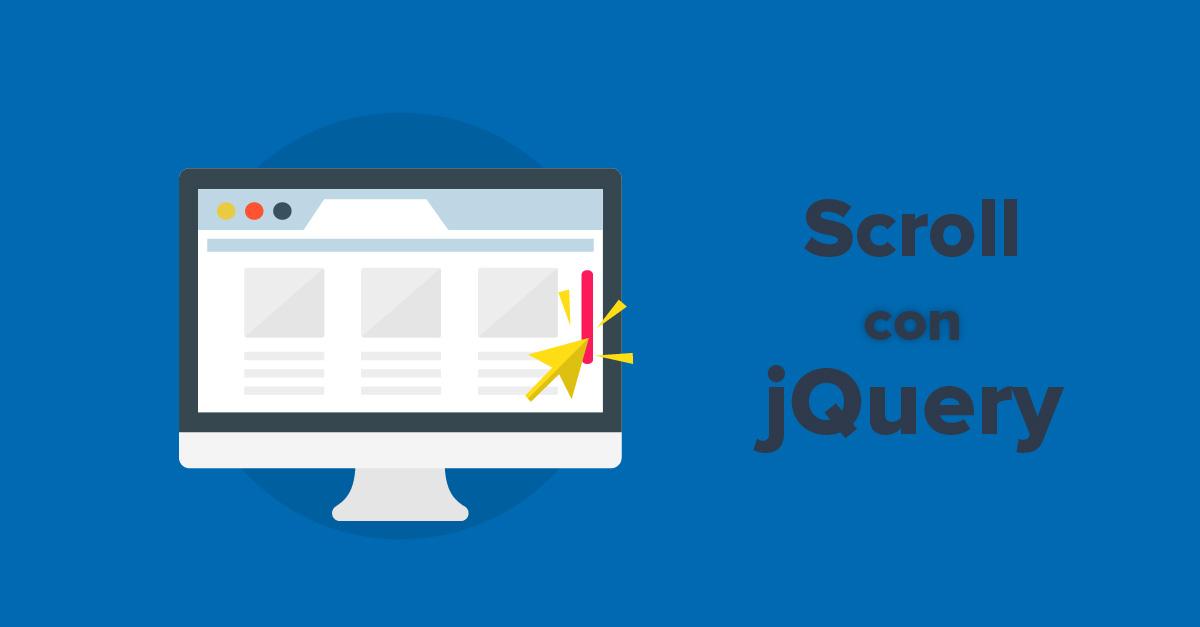 Scroll en jQuery