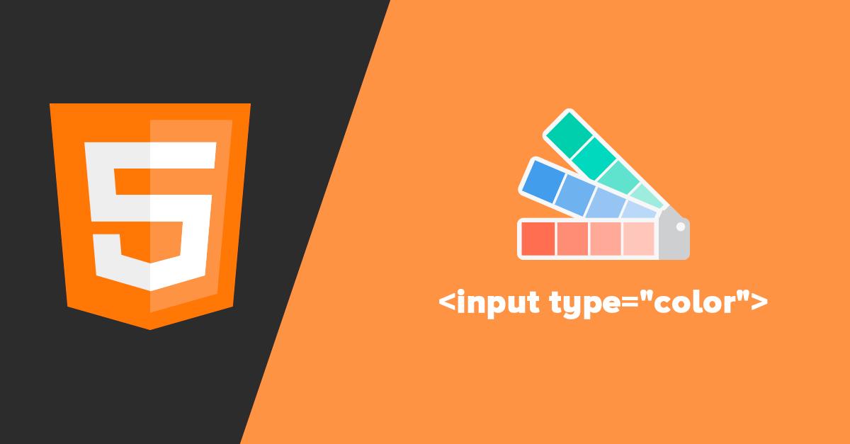 "Uso de <input type=""color""> de HTML5"