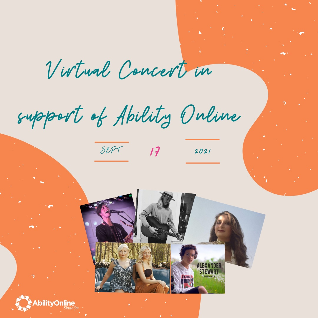 Virtual Concert in Support of Ability Online