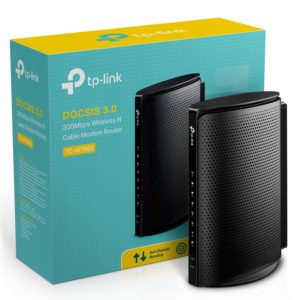 TP-Link TC-W7960 DOCSIS3.0 300Mbps Wireless WiFi Cable Modem Router