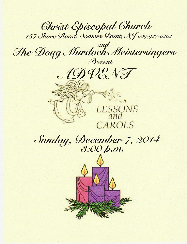 the episcopal diocese of new jersey advent lessons carols. Black Bedroom Furniture Sets. Home Design Ideas
