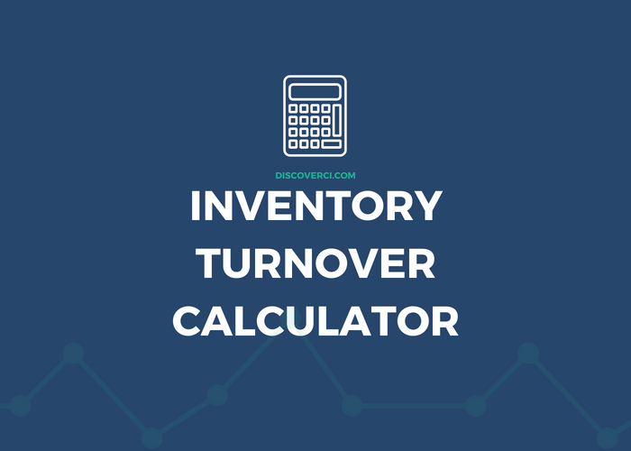 Inventory+turnover+ratio+calculator