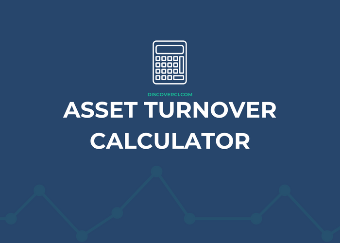 Asset+turnover+calculator