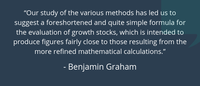 Benjamin Graham Intrinsic Value Calculator