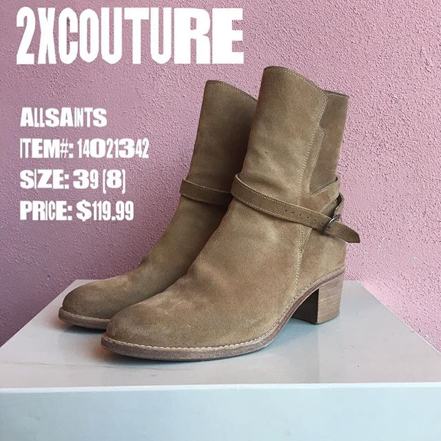 2_time_couture - AllSaints Boots (with box)