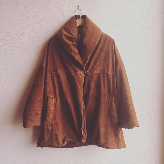 2_time_couture - Vintage Burberry Suede Coat, Size: XS
