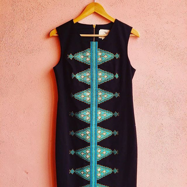 2_time_couture - Tabitha Embroidered Dress, Size 8