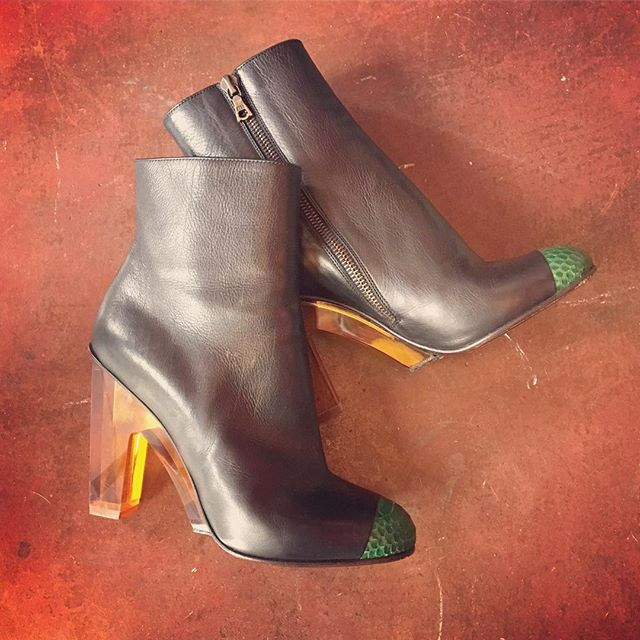 2_time_couture - Dries Van Noten Ankle Boots, Size 36 (6)