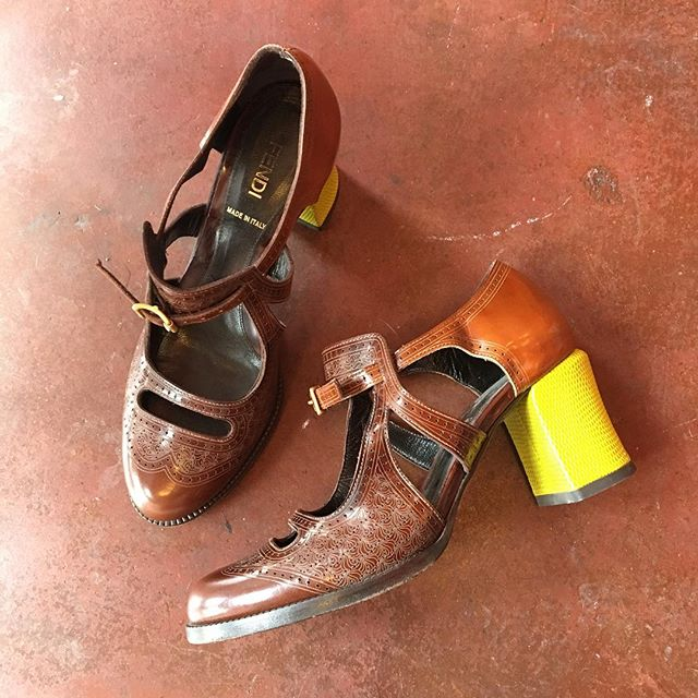 2_time_couture - Fendi Heels, Size 36.6