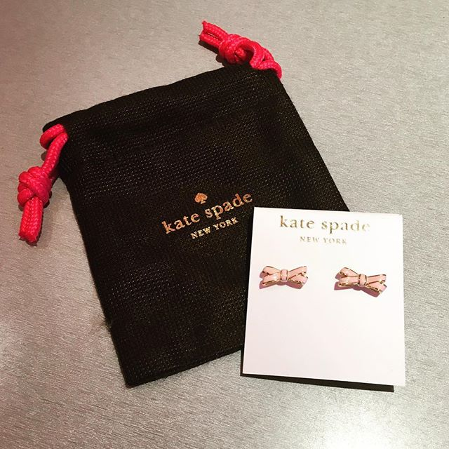 2_time_couture - Kate Spade Bow Earrings