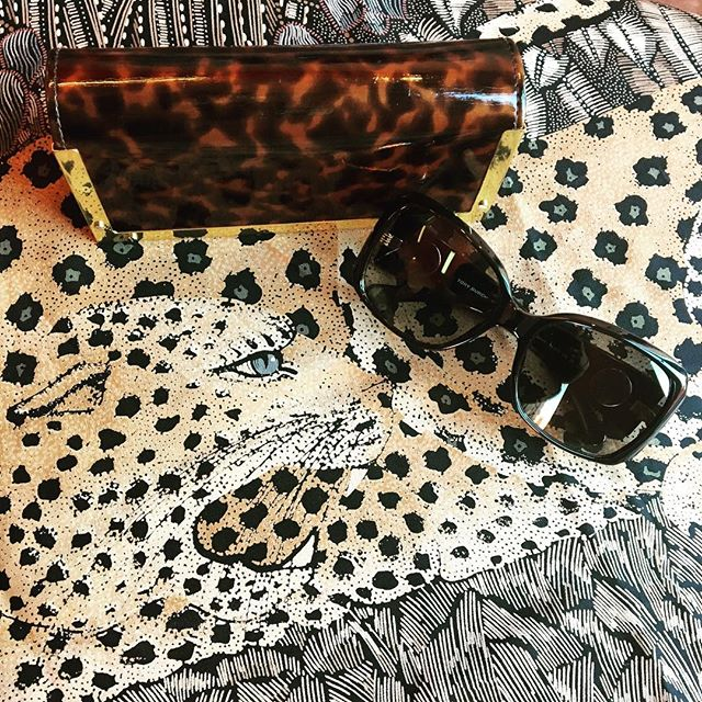 2_time_couture - . Silk Leopard Scarf