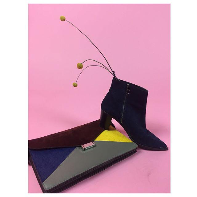 ReLove  - PURSE: Celine color block structured purse.