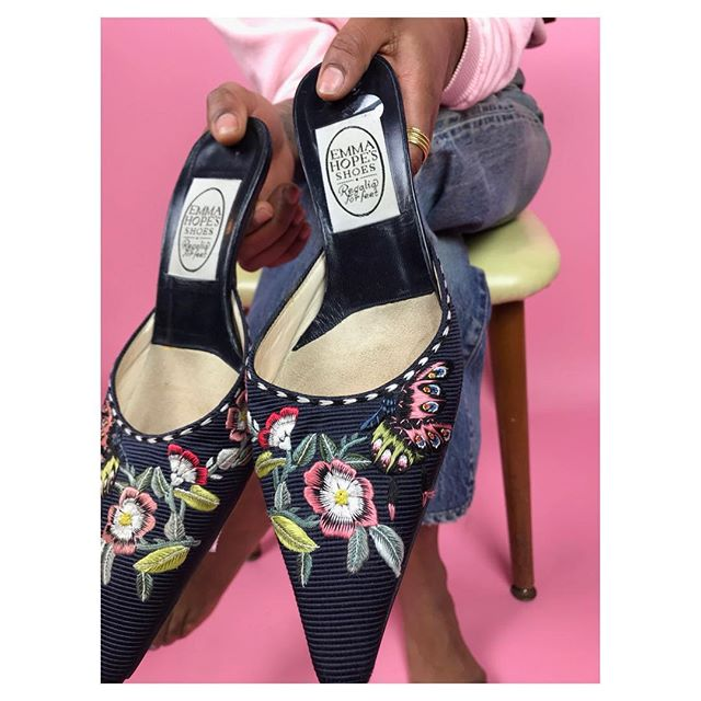 ReLove  - SHOES: Emma Hope's Floral Mules