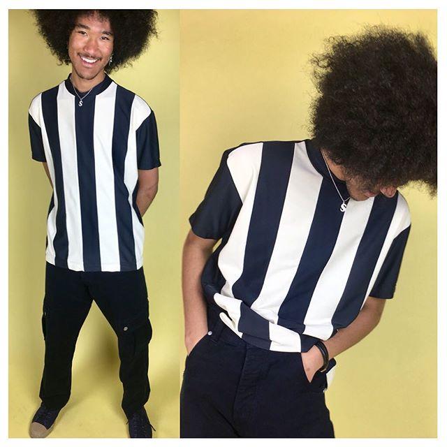 ReLove  - SHIRT: Issey Miyake stripe Top