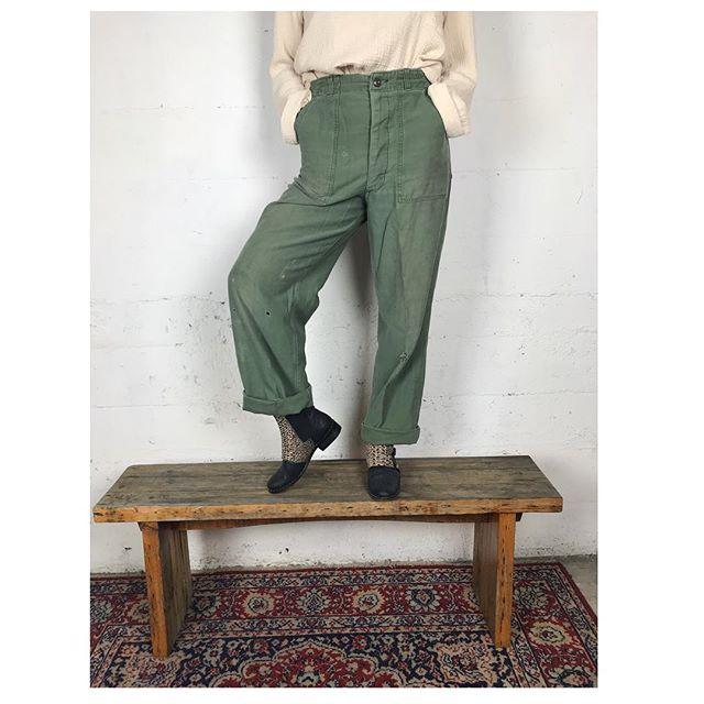 ReLove  - PANTS: OG military trouseR,