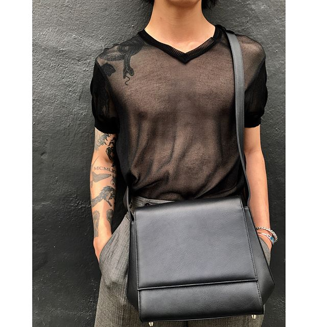 "ReLove  - PURSE: The ""Turnin"" lambskin crossbody by @tsatsas ! This is a cult favorite and made in Germany. Like new,"
